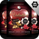 Valentine Poster Flyer Template Vol. 1 - GraphicRiver Item for Sale