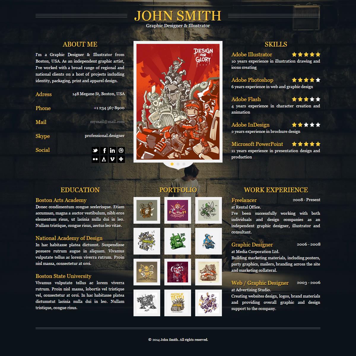 jonas   portfolio by arx