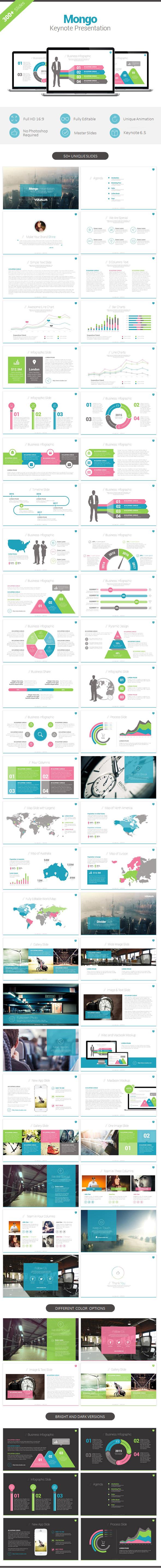 Mongo Keynote Template - Keynote Templates Presentation Templates
