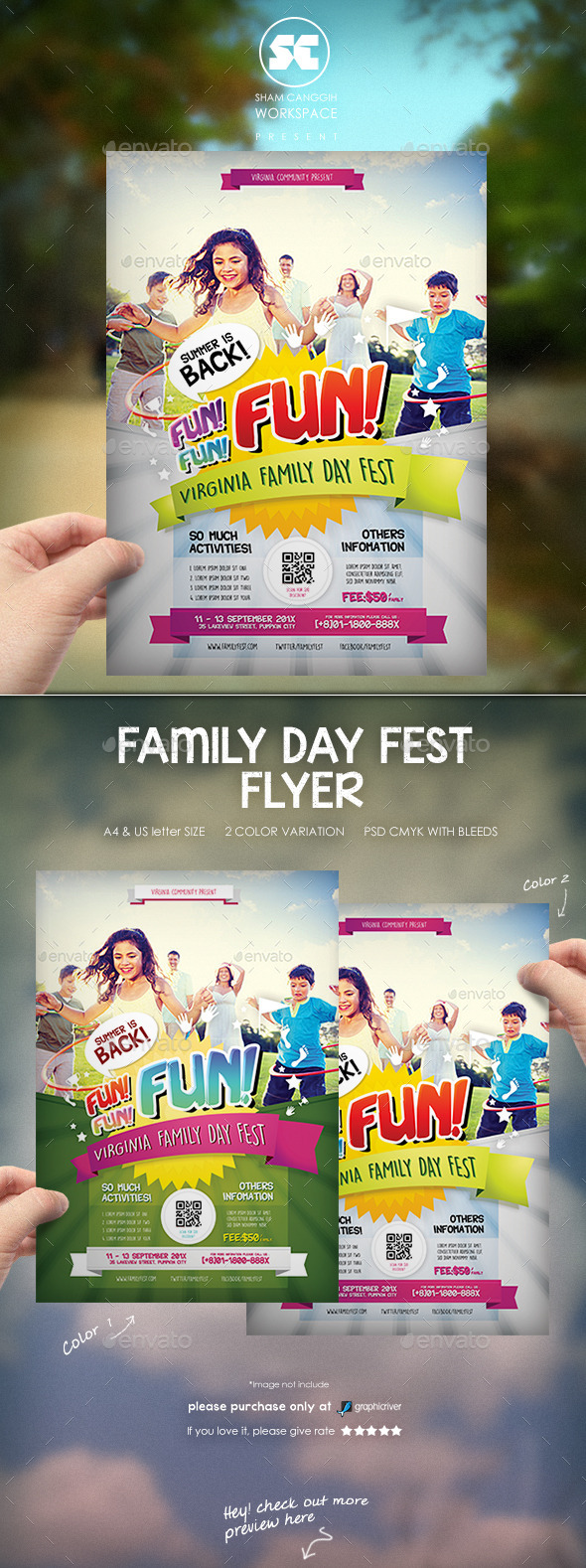 Family Day Flyer - Miscellaneous Events