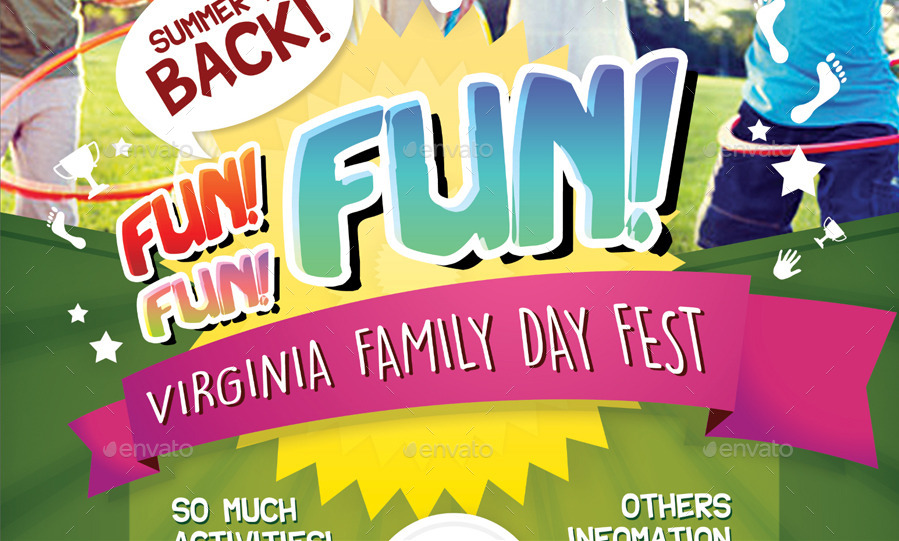 family day flyer by shamcanggih graphicriver
