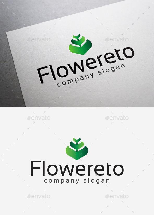 Flowereto Logo - Abstract Logo Templates