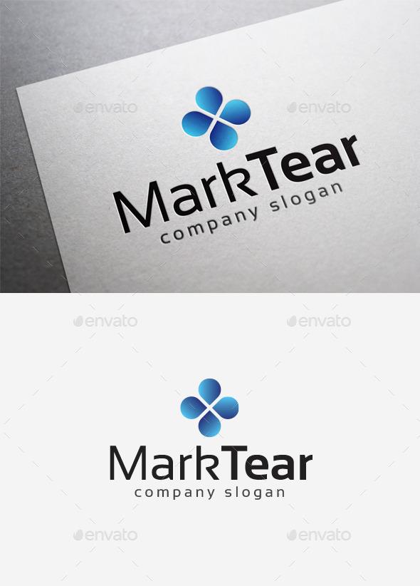 Mark Tear Logo - Abstract Logo Templates