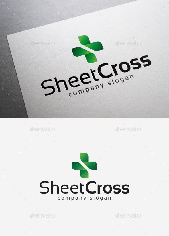 Sheet Cross Logo - Symbols Logo Templates