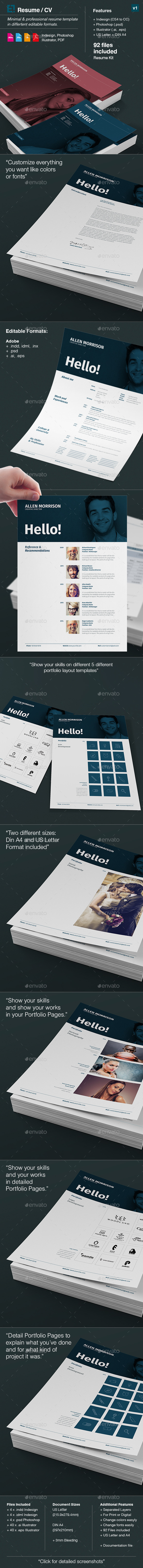 Resume - CV and Portfolio - Resumes Stationery