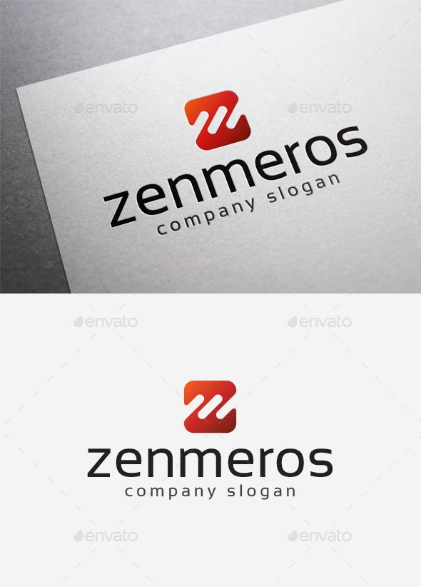 Zenmeros Logo - Letters Logo Templates