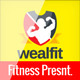 WealthFit | Fitness - Gym Keynote - GraphicRiver Item for Sale