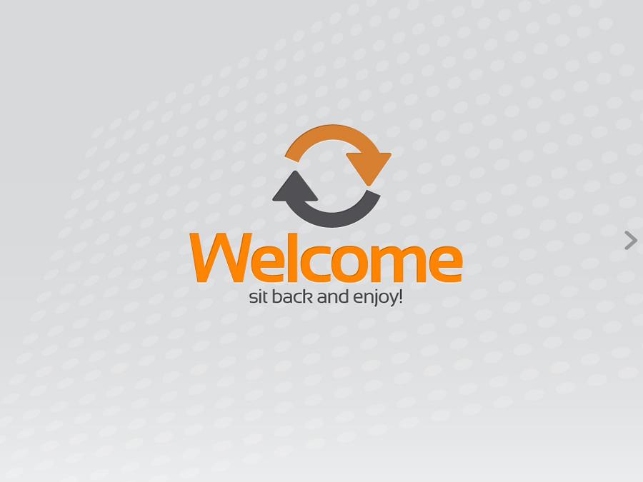 orange gray powerpoint templatealanmolnar | graphicriver, Powerpoint templates