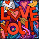 3 I Love You Doodles Designs - GraphicRiver Item for Sale