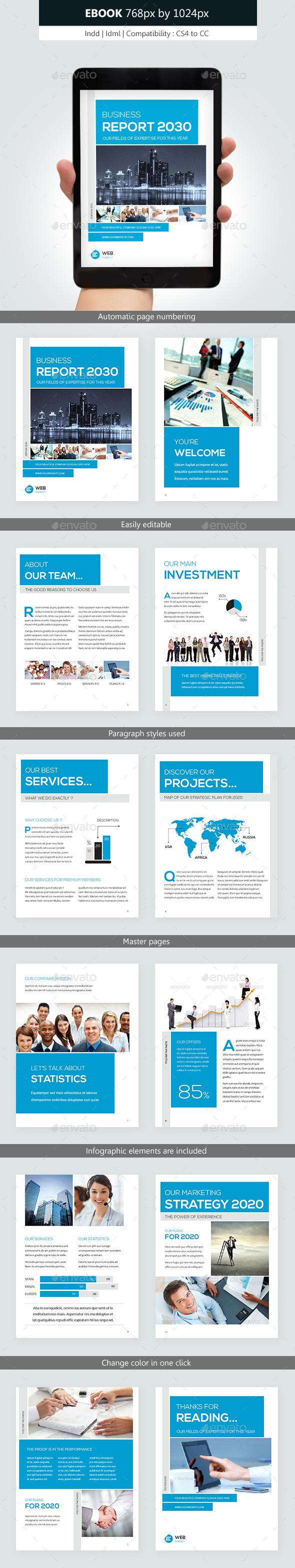 Corporate Ebook Template Design by franceschi_rene | GraphicRiver