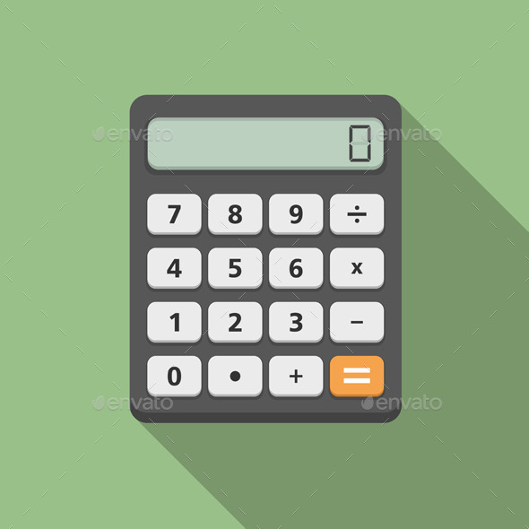Calculator - Man-made Objects Objects
