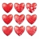 Red Hearts - GraphicRiver Item for Sale