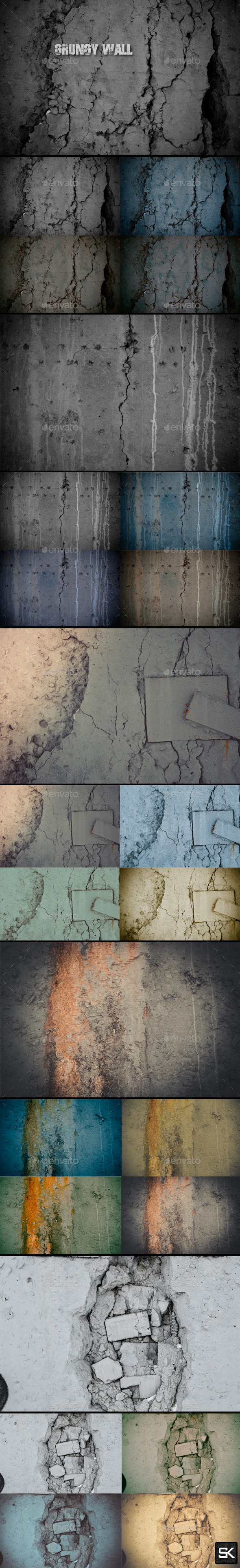 Grungy Wall - Industrial / Grunge Textures