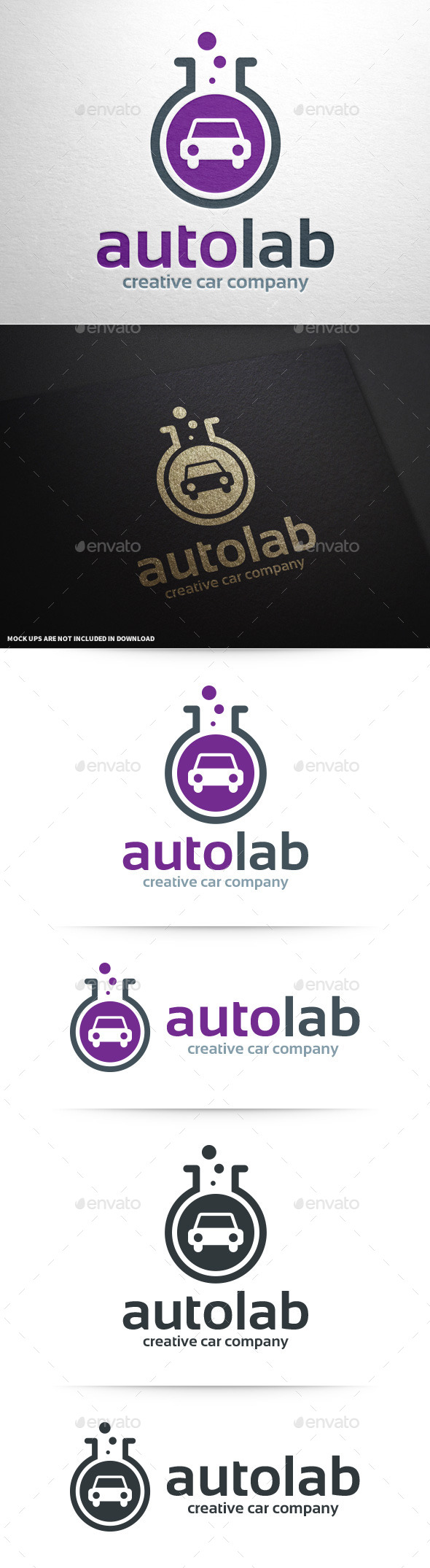 Auto Lab Logo Template - Objects Logo Templates