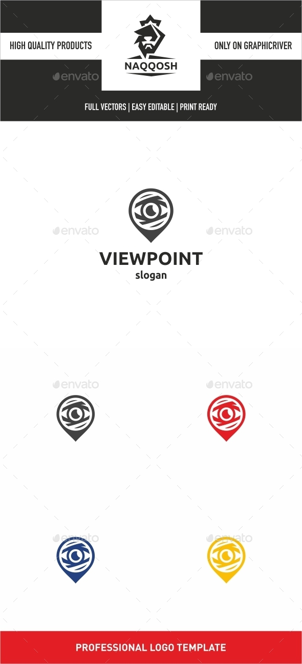 VIEWPOINT - Symbols Logo Templates