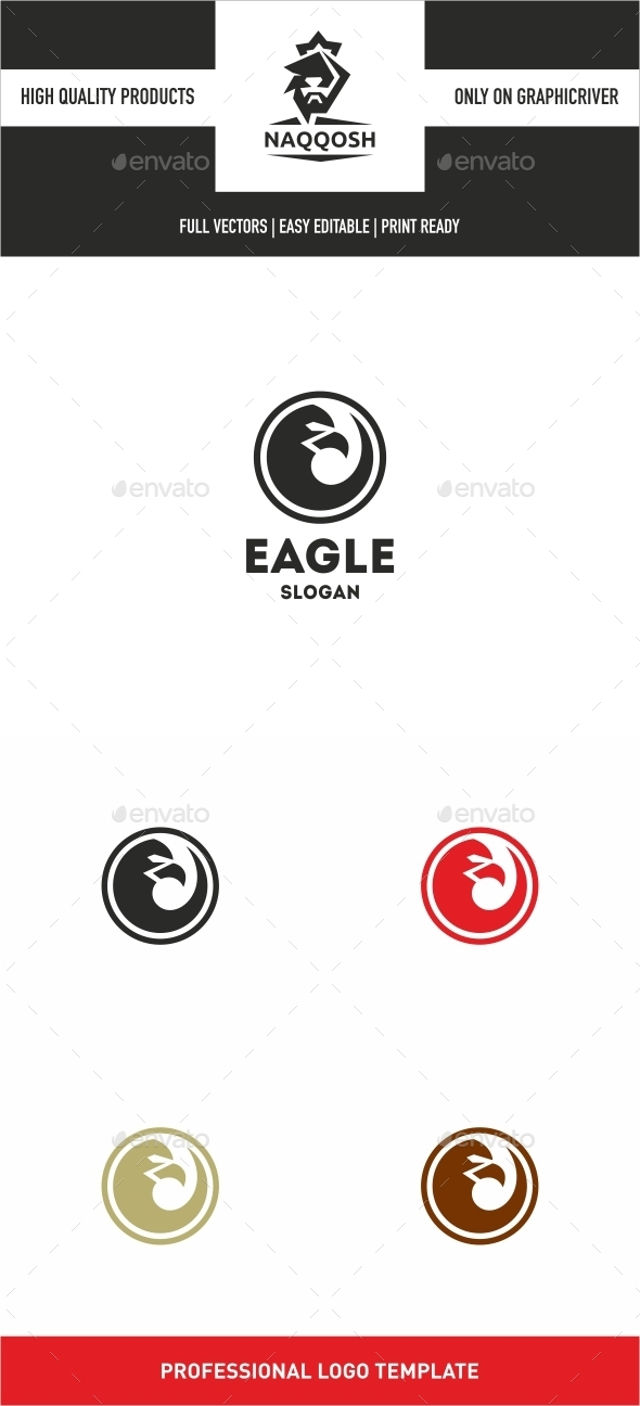 EAGLE - Animals Logo Templates
