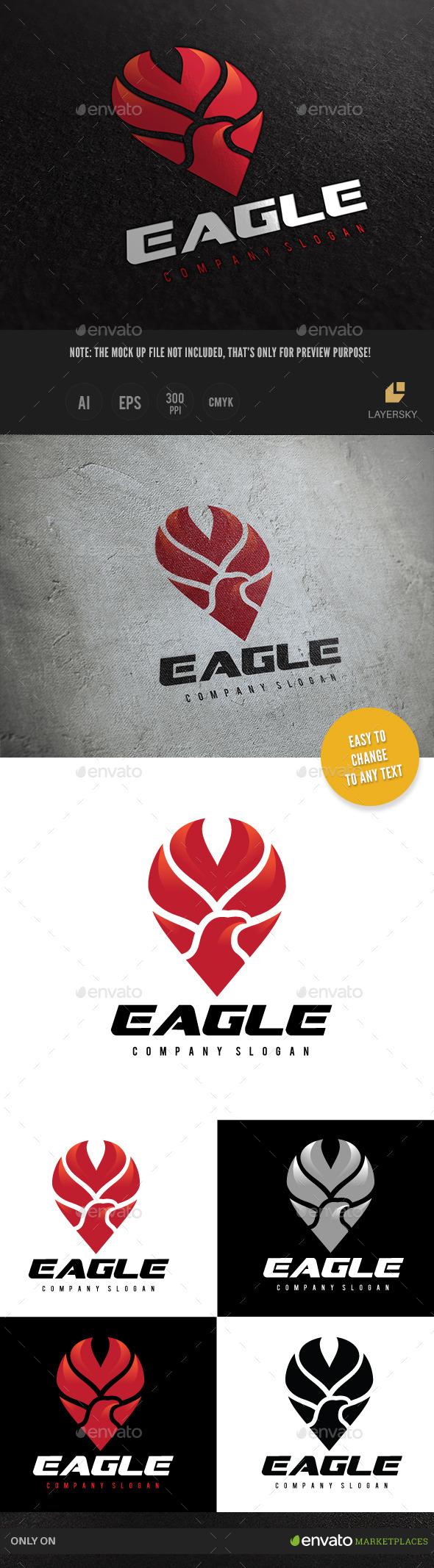 Eagle  - Crests Logo Templates