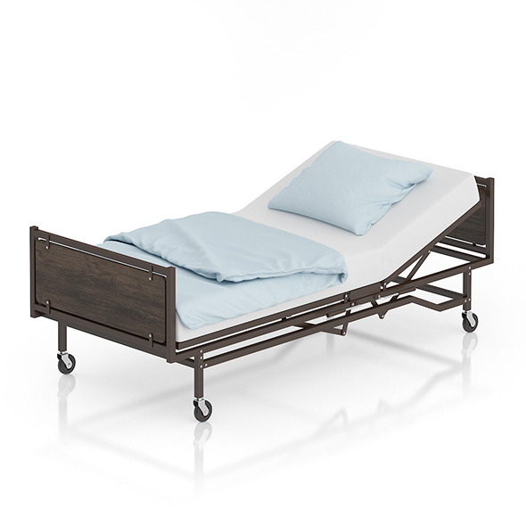 Hospital Bed - 3DOcean Item for Sale
