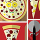 Build a Pizza Flat Illustration Kit - GraphicRiver Item for Sale
