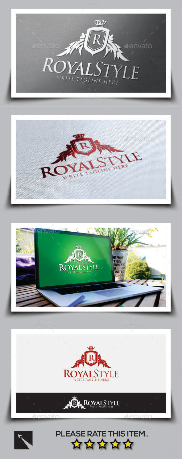 Royal Style Logo Template - Crests Logo Templates