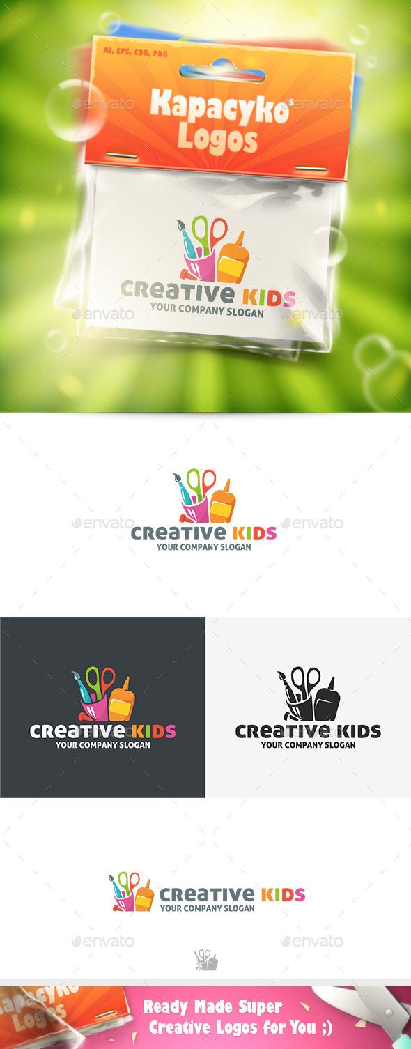 Creative Kids Logo - Symbols Logo Templates