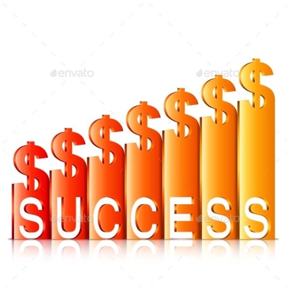 Money Success Concept - Concepts Business