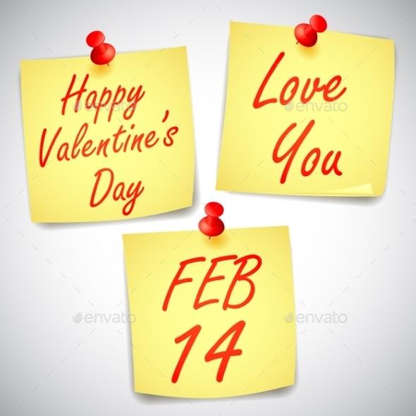 Valentines Day Notes - Valentines Seasons/Holidays