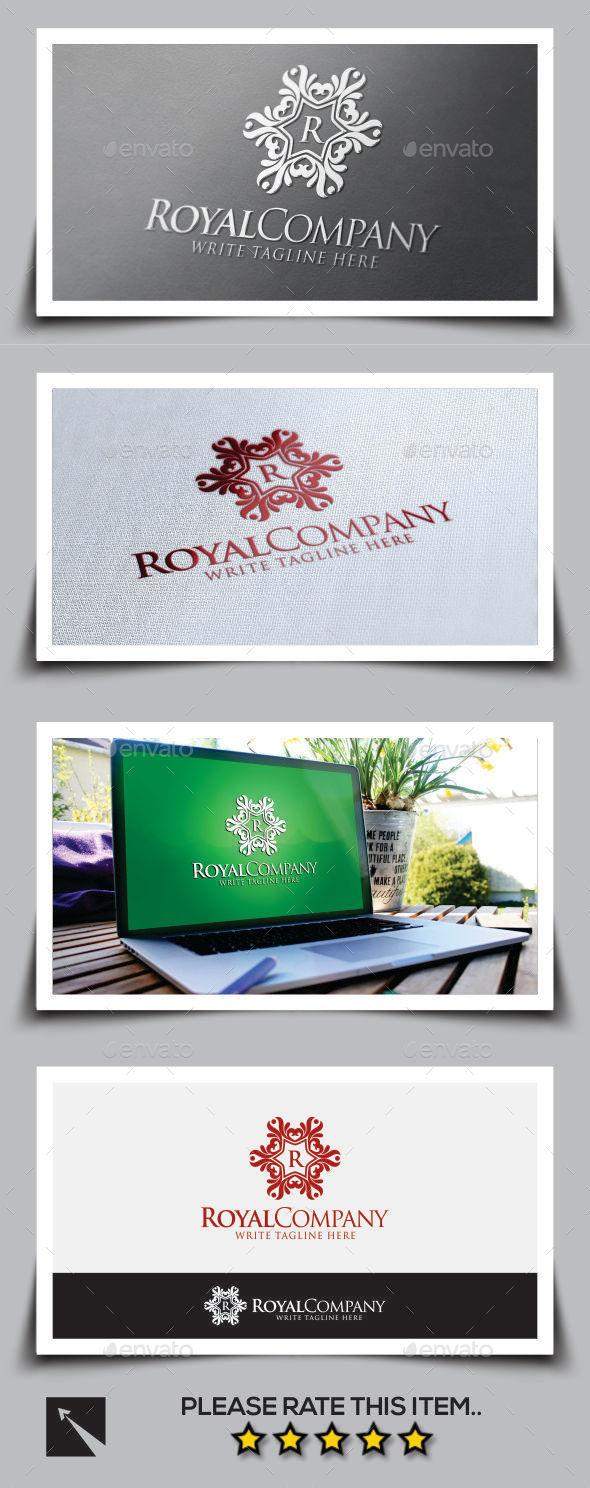 Royal Company Logo Template - Crests Logo Templates