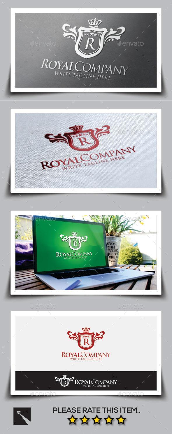 Royal Company V2 Logo Template - Crests Logo Templates