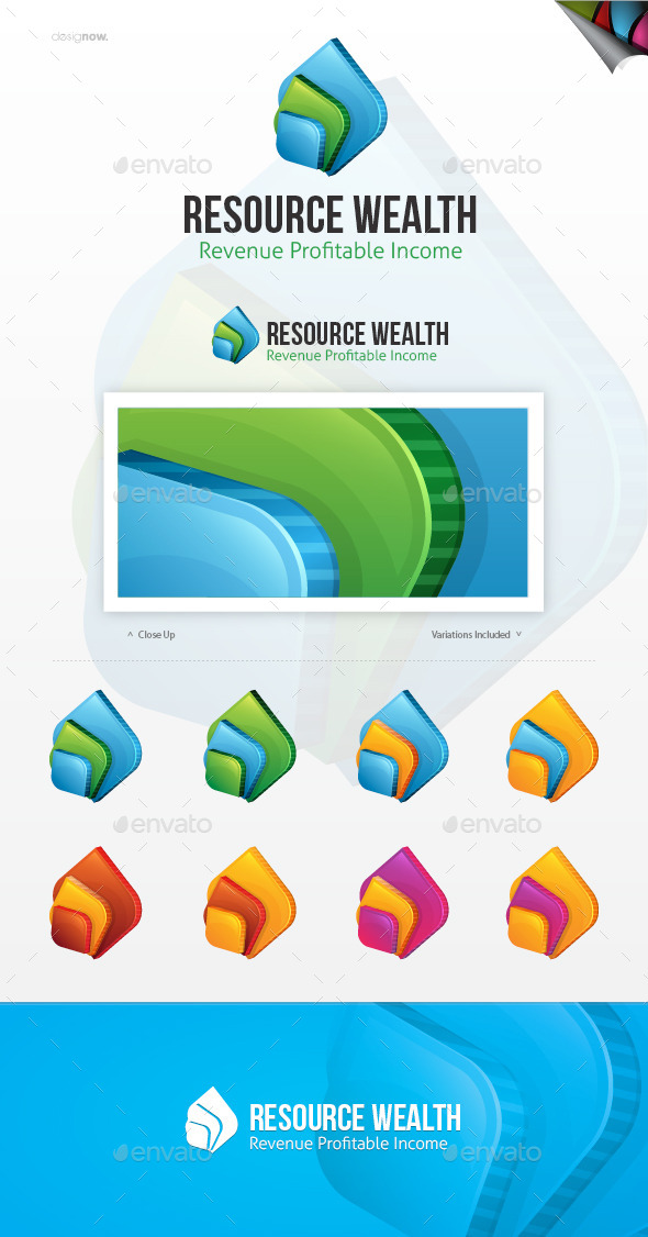 Resource Wealth Logo - Nature Logo Templates