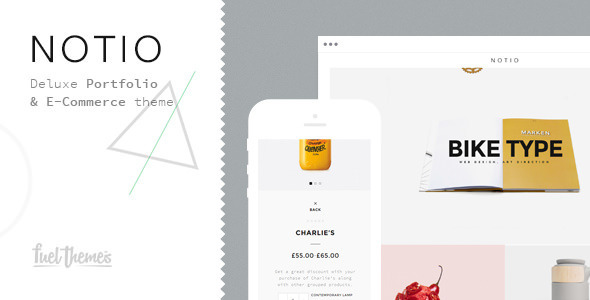 Notio – Deluxe Portfolio Theme