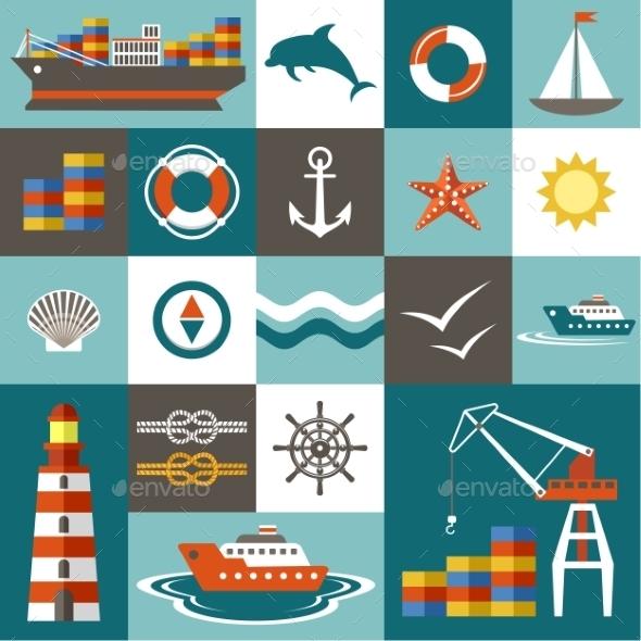 Port Set - Travel Conceptual