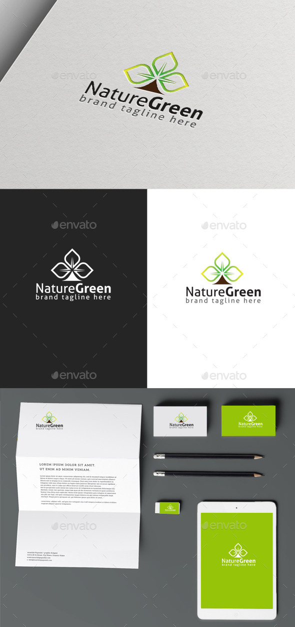 Green Nature - Nature Logo Templates