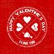 Valentine's Day Badges - Vintage Style - GraphicRiver Item for Sale