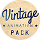 Download Vintage Animation Pack from VideHive
