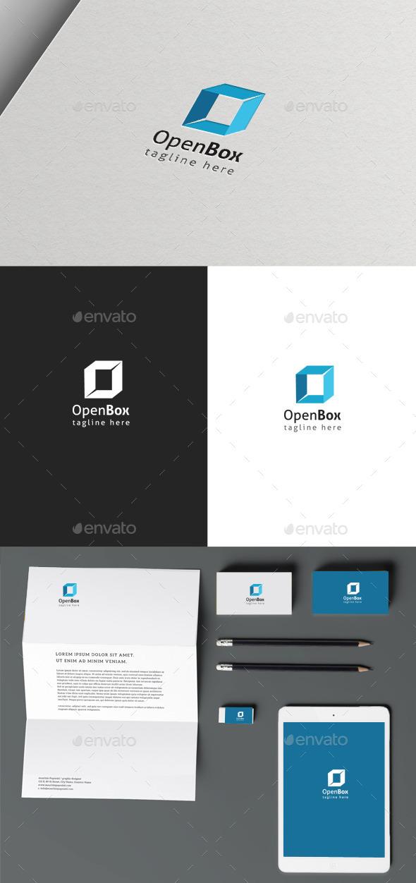 Open Box - Crests Logo Templates