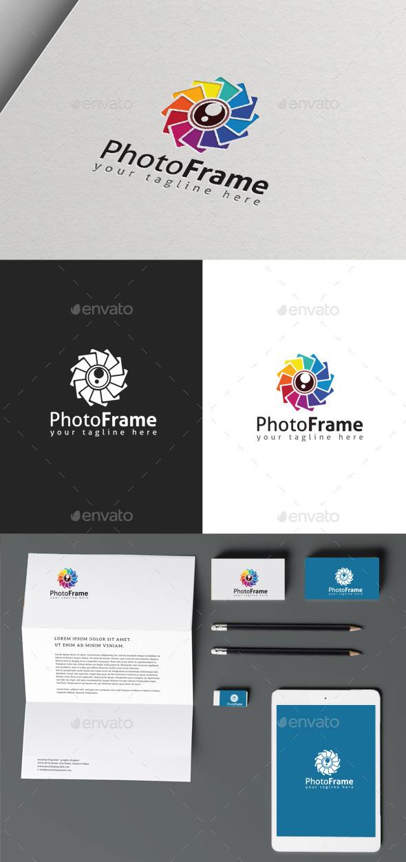 Photo Frame - Symbols Logo Templates
