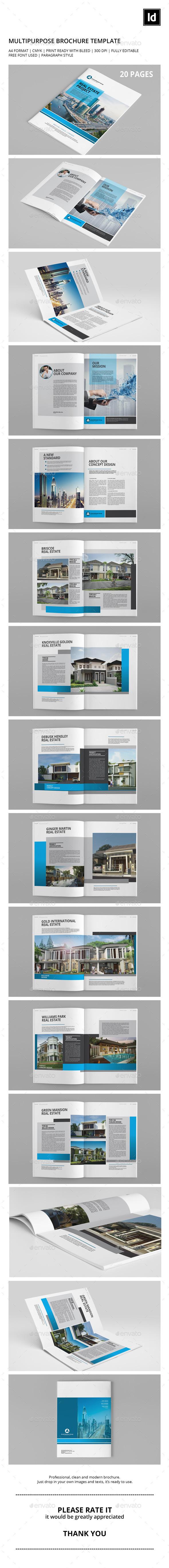 Multipurpose Brochure Template - Catalogs Brochures