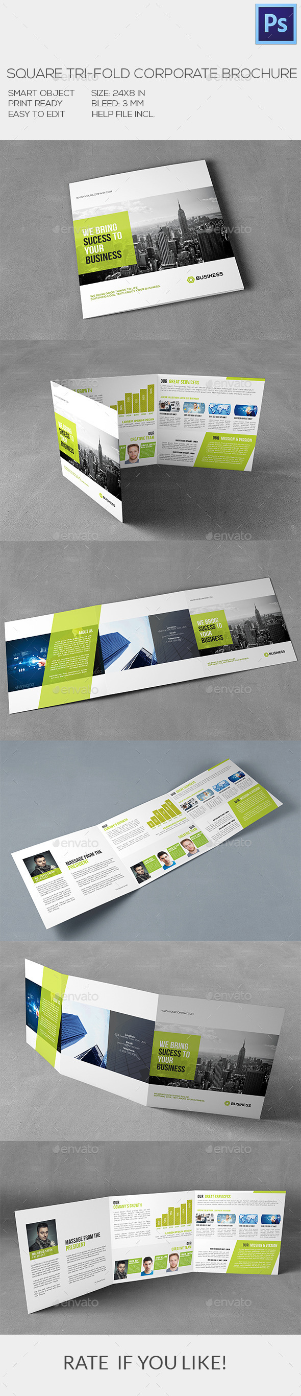 Square Corporate Brochure - Corporate Brochures