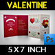Valentine Day Greeting Card Template - GraphicRiver Item for Sale
