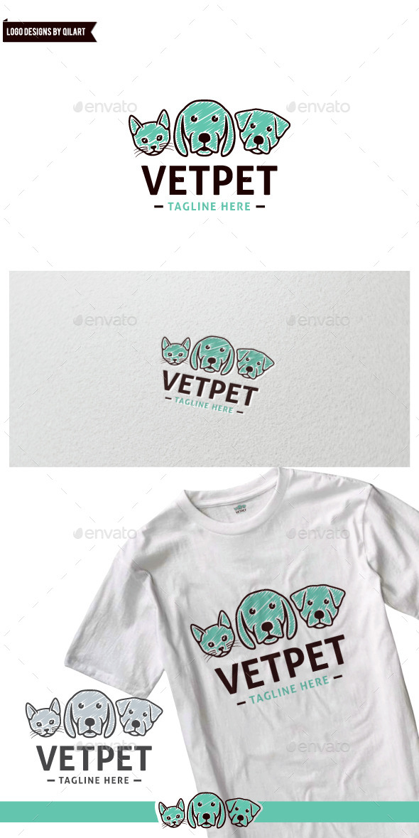 VetPet - Animals Logo Templates
