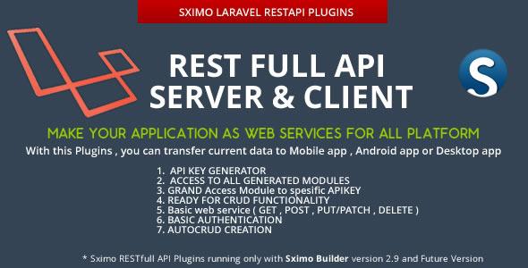 Laravel - RESTfull API Client & Server  - CodeCanyon Item for Sale