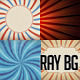 Rays Backgrounds Col 2 - GraphicRiver Item for Sale