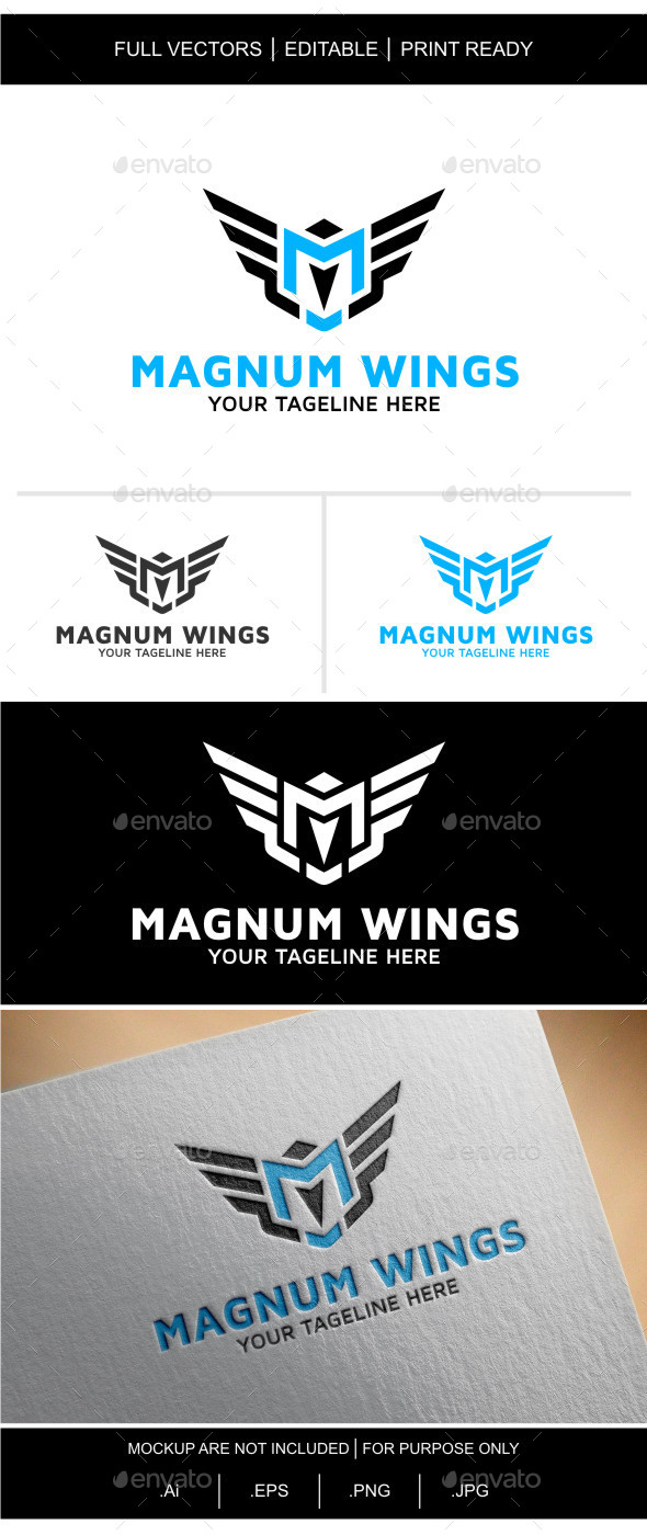 Magnum Wings - Logo Templates