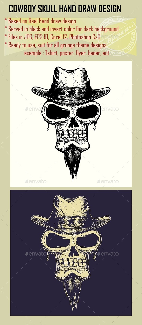 Cowboy Skull - Miscellaneous Characters