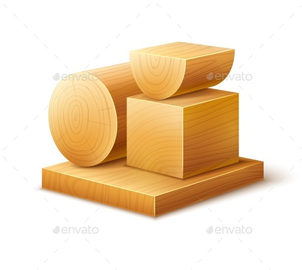 Woodworks Wooden Blocks - Organic Objects Objects