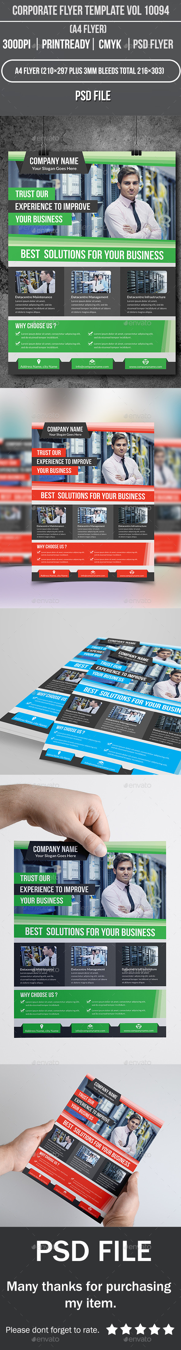 Corporate Flyer Template Vol 10094 - Corporate Flyers