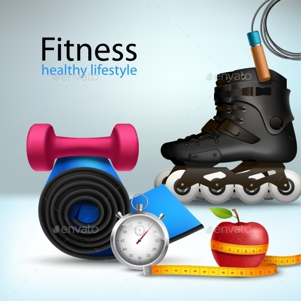 Fitness Lifestyle Background - Sports/Activity Conceptual