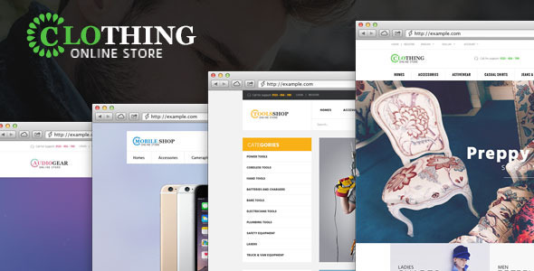 Ves Clothing Magento Theme - Shopping Magento