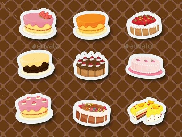 Sweet Dessert - Food Objects
